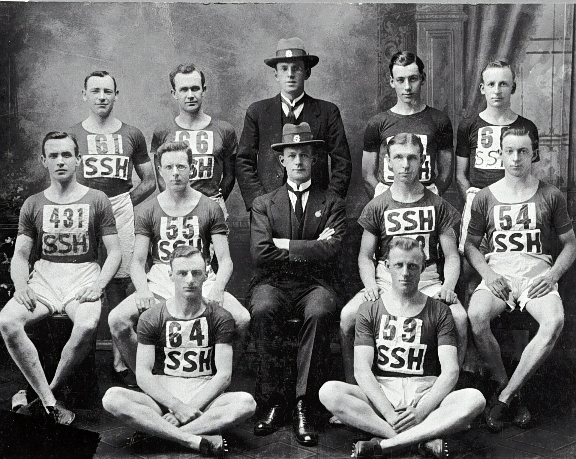 Team portrait of the Street Stephen 's Harriers. They were the cross country champions of Victoria. Team Portrait of the Street Stephen's Harriers, Sydney, New South Wales, 1922. Photo by Museums Victoria on Unsplash